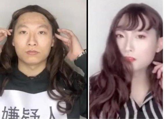"""""""사기 조심하세요"""" 영상 속 미녀의 충격적인 정체"""