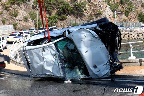 허술한 차량 대여 시스템이 부른 '강릉 바다 추락 사고'의 전말