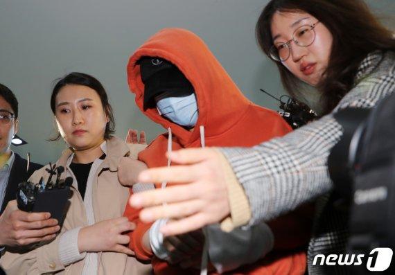 마약투약 혐의 황하나 결국 체포.. 취재진의 질문에 보인 반응은