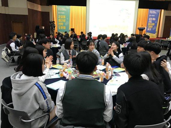 """군포시장-교육장-청소년 """"군포 디자인하다"""""""