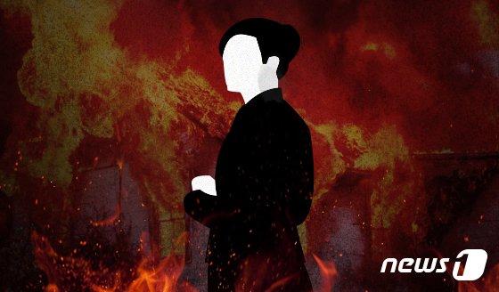'민원 불만' 60대女 도봉구청에 불내고 도주