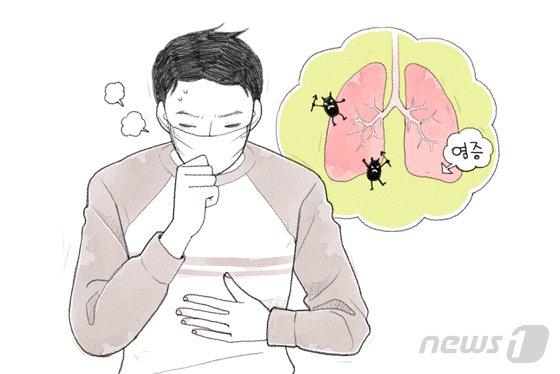 숨 쉴때마다 가슴통증, 열나고 기침하면 위험신호