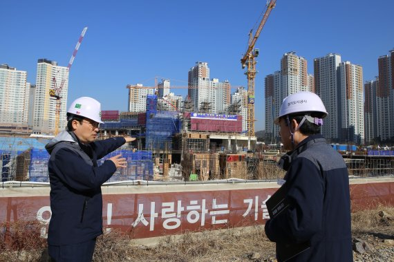 경기도시公 '안전한 현장 만들기' 미세먼지·사고위험 줄인다