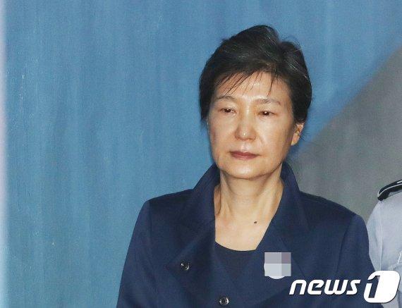 징역형의 확정 판결 받은 박근혜 전 대통령의 요청