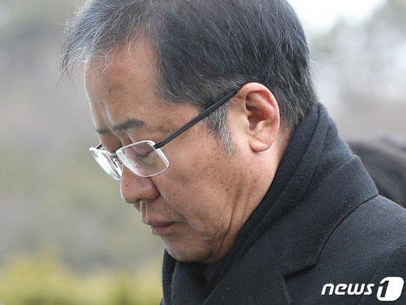"""홍준표 """"한국당 하나로 뭉쳐 文정권 음험한 책동을 반드시.."""""""
