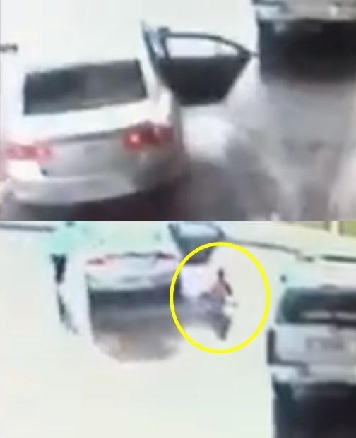 도난 차량 속 누나 구해낸 용감한 8세 영웅 소년