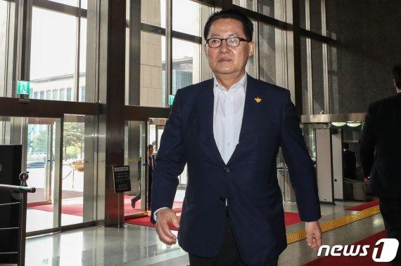 """박지원 의원의 예언 """"한국당, 한 달 내로.."""""""
