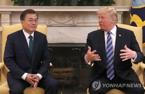 """'한미 정상회담' 6월말 한국서 개최...""""한반도 평화 등 협의"""""""