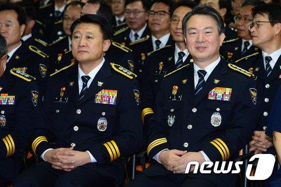 '불법 정치관여' 강신명·이철성 前경찰청장 15일 구속기로