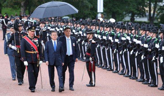 文대통령, 노르웨이 국빈 방문… 수소·북극·조선 협력 강화
