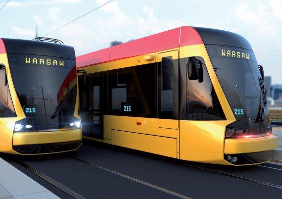 현대로템 '트램' 폴란드 철길 달린다