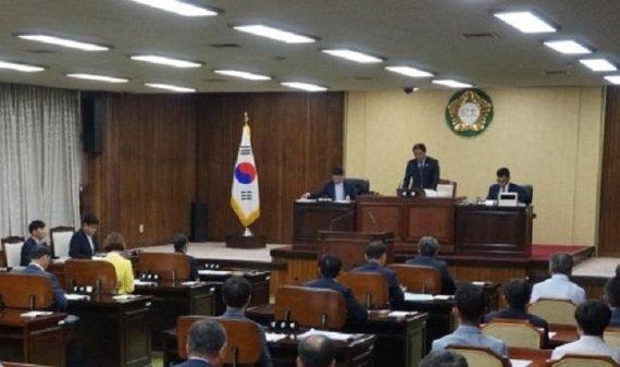 """동해시의회, 김기하 의원""""발전소주변 환경투자 이어지지않아"""""""