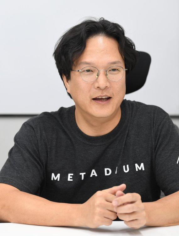 """[블록人터뷰] """"메타ID 하나로 세계 모든 게임을 개발할 수 있다"""""""
