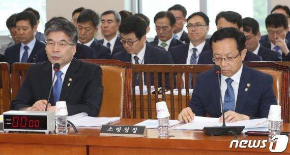 국회, '버닝썬·고유정'수사 질타…소방법은 안건조정위로(종합)
