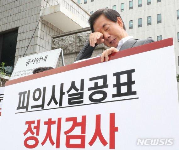"""KT 前직원 """"김성태 딸, 서류마감 한달 뒤 서류 제출"""" 증언"""