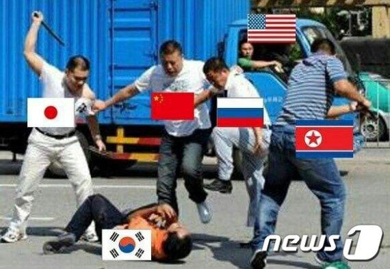 민경욱, 집단폭행 사진 올리고 하는말.. '소름'