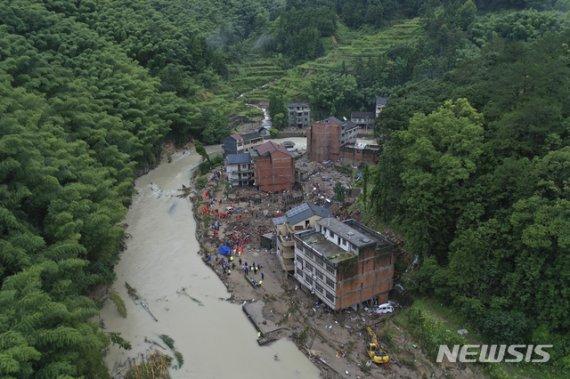 48명 사망실종 태풍 레끼마, 中칭다오에 재상륙