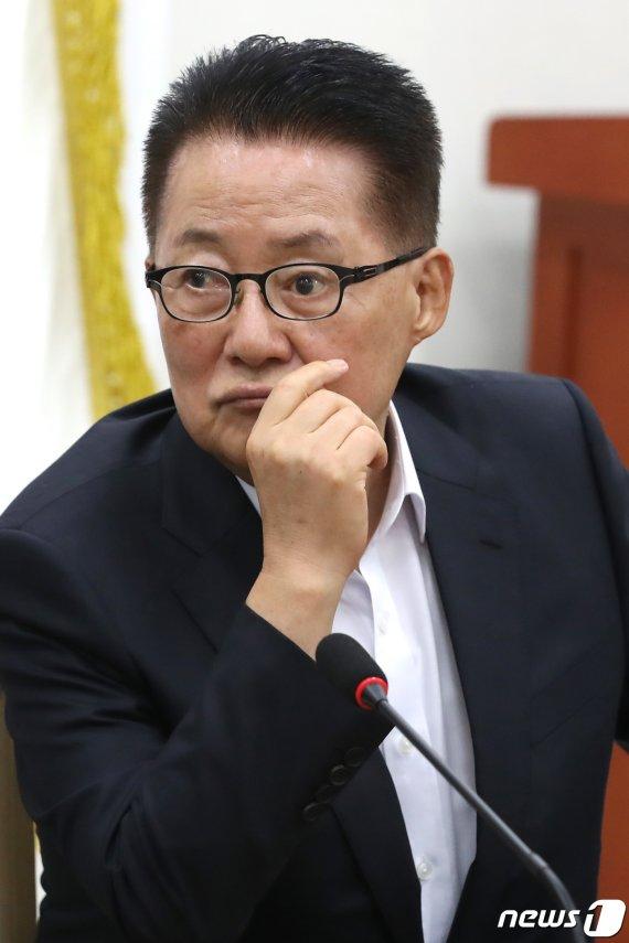 '박지원 눈꼴사나워' 북 비난에 박지원 반응
