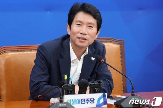"""이인영, 조국 청문회 불발 가능성에 """"국민 청문회라도..."""""""