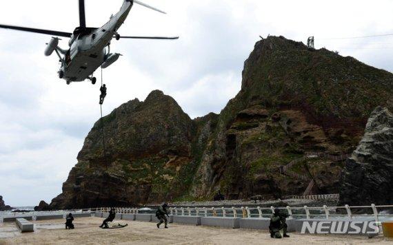 독도방어훈련 연기해온 軍…지소미아 종료에 곧 실시 관측