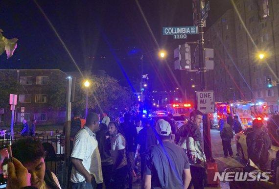 美 백악관 인근 거리서 총기 난사… 1명 사망 5명 부상