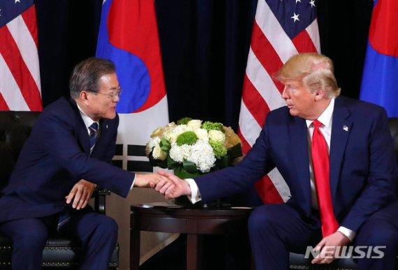 """정부 """"한미 정상, 北 관계 '전환' 강조는 처음…같은 목표 공유"""""""
