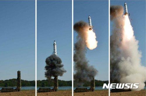 北 '북극성-3형' 추정 SLBM, 美본토 타격 가능 비대칭 전력