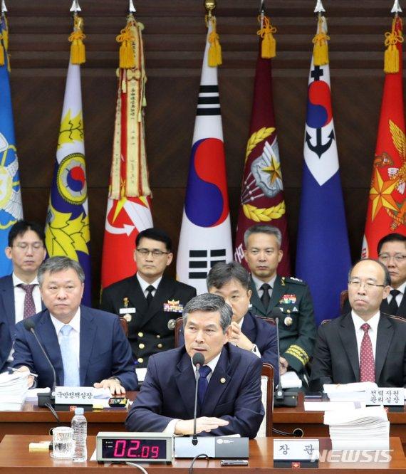 국방위서 '9·19군사합의 위반·함박도 논란' 野 맹공