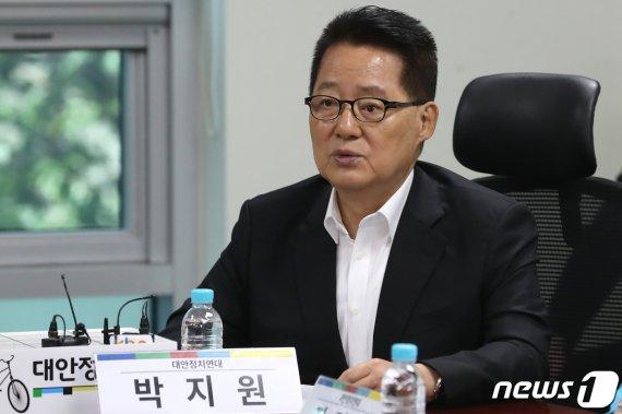 """'보수·진보' 세 대결에 박지원 묵직한 한 방 """"너무.."""""""