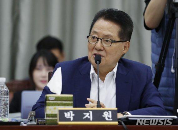 """여상규 욕설 논란에 묵직한 한방 날린 박지원 """"화가나면.."""""""