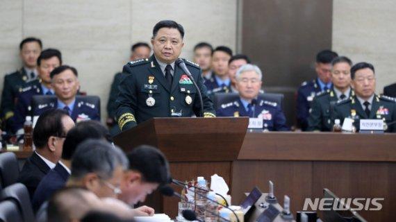 """박한기 합참의장 """"日 독도 영공침범하면 단호한 대응조치 시행""""(종합2보)"""
