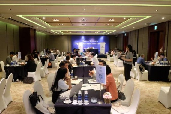 MOIBA, '베트남 디지털콘텐츠 로드쇼 2019' 성황리에 마쳐