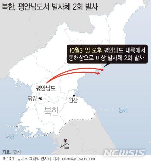 """靑 NSC """"北 발사체에 강한 우려…의도·배경 분석""""(종합)"""