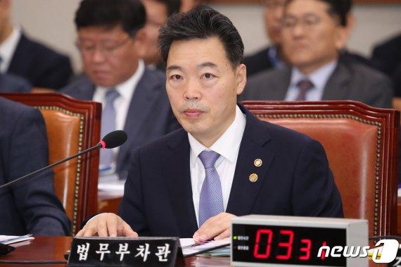 """김오수 """"'타다' 수사, 검찰 고유권한…타부처와 공유 어려워"""""""
