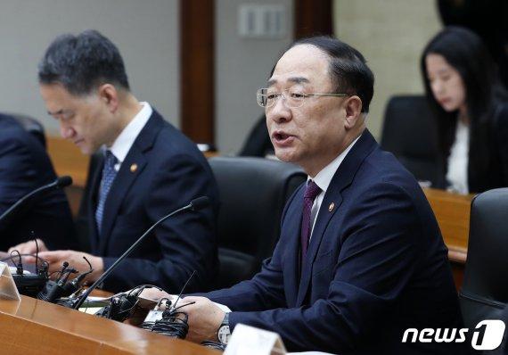 """홍남기 """"동(洞) 단위 분양가상한제, 시장영향 최소화 고려"""""""