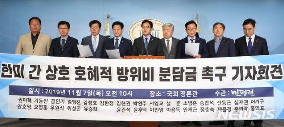 """""""한반도 역외 부담까지 요구""""…美 방위비 증액 전방위 압박(종합)"""