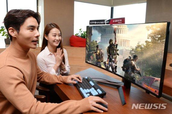LG전자, 국내 최대 게임 축제서 'LG 울트라기어' 신제품 공개
