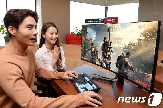 대화면·고성능, 'LG 울트라기어' 모니터 지스타 출격
