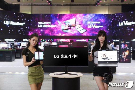 """V50S와 듀얼스크린으로 게임 즐겨라""…LG전자, 지스타 2019 출격"