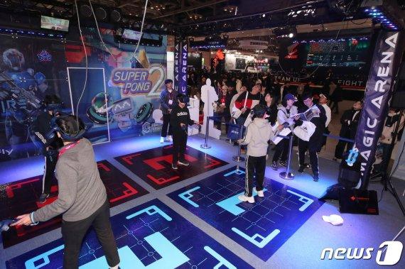 [화보]국내 최대 게임쇼 '지스타 2019' 화려한 개막