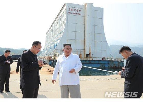 북 조선중앙통신, 금강산 시설 철거 재촉하는 기사 내보내