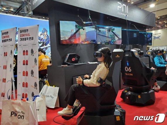 [지스타]갈길 먼 VR게임, 모바일·콘솔에 밀려 여전히 '조연'