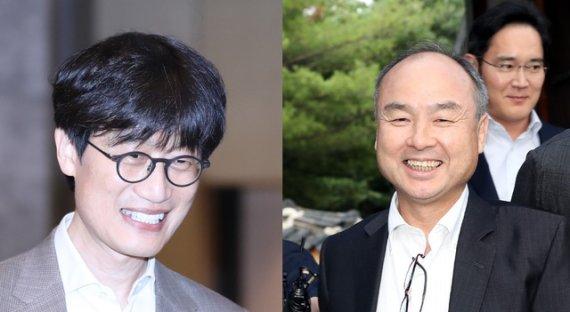 """이해진-손정의, 동맹 공식화…""""글로벌사와 경쟁 AI 기업 도약""""(종합2보)"""