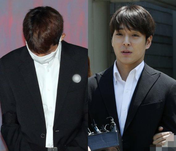 '불법촬영·집단성폭행' 정준영, 1심서 징역6년…최종훈 징역5년(종합)