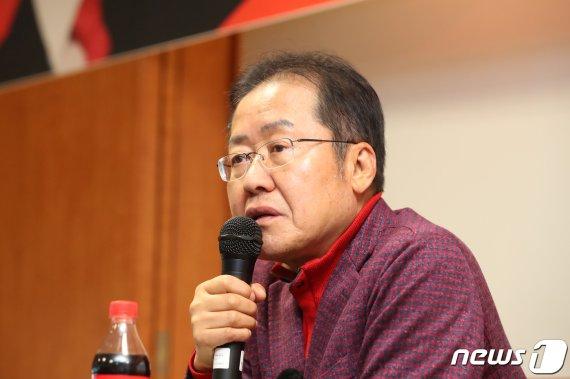 """홍준표 """"김성태 사건은 정치보복…檢, '권력의 주구' 노릇"""""""