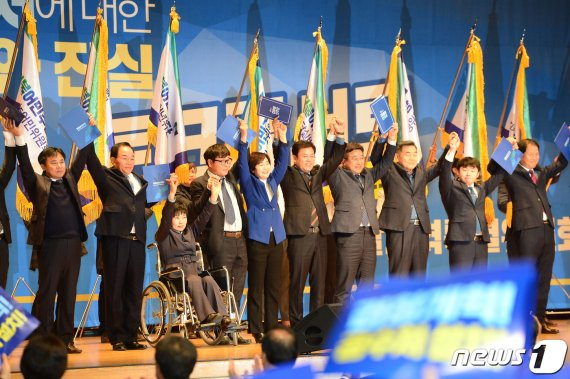 """與 광주서 공수처 토크 콘서트…박범계 """"한국당 참 별종"""""""