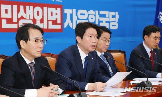 與, 한국당에 '최후통첩'…'4+1' 공조로 선거법 先처리 가닥(종합)