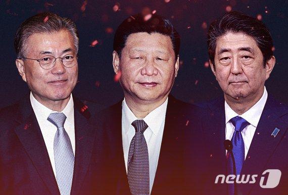 文대통령, 오늘 한중일 외교 장도 오른다…시진핑과 정상회담