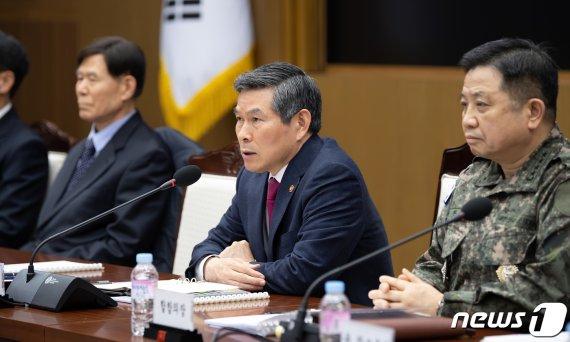 정경두 국방, '생명구조‧화재진화' 등 선행 장병에 표창