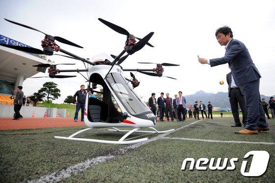 """국토부, 'K-드론시스템' 실증...""""5년 후 드론택시·택배 상용화"""""""